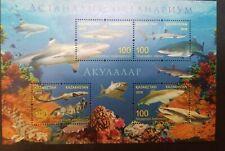 O) KAZAKHSTAN,SHARKS - CARCHARHINUS - TRIAENODON - CHILOSCYLLIUM -HABITAT, COR