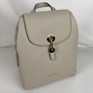 New Michael Kors Raven Leather Medium Backpack 30T9GRXB2L