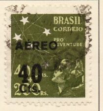 Brazil 1944 Early Issue Fine Used 40c. Surcharged NW-17191