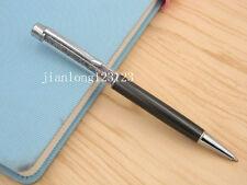 Grey silver Colorful crystal pen silver Trim aluminum fashion Ballpoint Pen