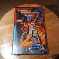 Transformers The Movie VHS Brand New - Factory Sealed Uncut Canadian Ver. 1995