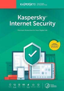 Kaspersky Internet Security 2019 Digital Download US Only, Free Upgrade to 2020