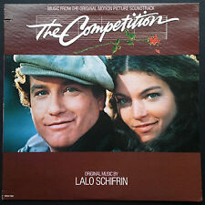 Lalo Schifrin THE COMPETITION soundtrack LP '80 Randy Crawford Amy Irving Remick