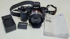 Sony Alpha A7 24.3MP Digital Camera 16mm f/2.8 AF lens Shutter 4121