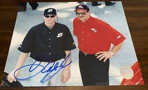 Dale Earnhardt Jr with SR COCA COLA RACING NASCAR JAPAN 8x10 autographed photo