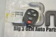 GMC Yukon Chevrolet Tahoe Remote Control Door Lock Transmitter new OEM 22951509