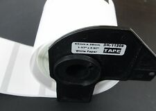 1 Partial Roll DK-1209 Brother Compatible Labels w/ Reusable Cartridge Core