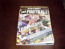 2005 Street & Smith Pro Football Yearbook Peyton Manning Brett Favre Cover
