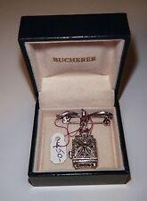 SALE Antique Swiss Bucherer Marcasite Watch Pendant Manual Rolex Precision