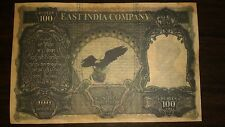 100 Rupees British Fancy Eagle 3 Notes Lot 1