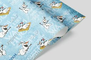 Olaf Frozen Gift Wrapping Paper - Disney Party Supplies Present Christmas