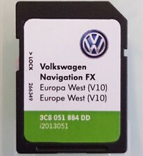 RNS 310 AMUNDSEN LATEST V10 2018 Navigation FX SD carte West Europe VW SKODA