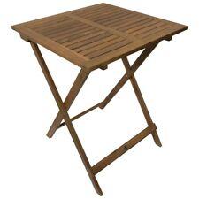Gartentisch klappbar quadratisch 60 x 60 x 74 cm Akazienholz geölt Bistrotisch