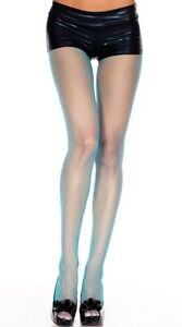 sexy MUSIC LEGS seamless FISHNET netted NET nylons TIGHTS stockings PANTYHOSE