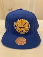 Golden State Warriors Mitchell & Ness SnapBack Adjustable Fit