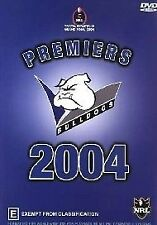 NRL - GRAND FINAL BULLDOGS PREMIERS 2004  New Sealed  DVD- ALL REGIONS