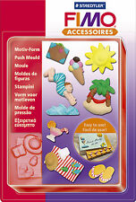 FIMO Sculpey Clay Push Moulds Holiday For Modelling Jewellery Craft Art Fun 03