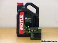 Motul Öl 5100 15W-50 / Ölfilter Aprilia SL750 Shiver / Shiver GT Bj 08 - 16