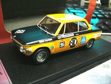 BMW 2002 1600 ti alpina Brno 1969 #80 Huber Treser RARE 1/100 scala 43 1:43