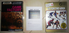 Game factory Intellivision prototype reproduction box + manual