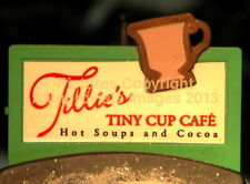 North Pole Dept 56 Elf Land Tillie'S Tiny Cup Cafe 56401 NeW! Mint! FabUloUs!