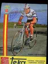 ANTONIO COLI PONTANILLA TEKA Signed Autographe cycling Signé cyclisme ciclismo