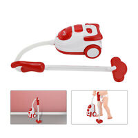 Kids Play Vacuum Cleaner Hoover Realistic Toy Red with Lights & Sounds Home