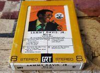 """Sammy Davis Jr. 8-Track Tape (Now) """"I Want To Be Happy"""""""