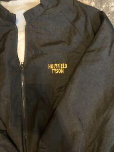 Rare Vintage Boxing Jacket Memorabilia 11/8/91 HOLYFIELD vs TYSON CAESARS Palace