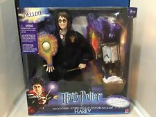 Mattel Harry Potter Magic Powers Deluxe Harry Action Figure Doll - New in Box