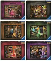 RAVENSBURGER DISNEY VILLAINOUS - ALL 6 PUZZLES 1000 PIECES - From 15022 To 15027
