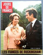 ►JDF965/1973-ANNE & MARK-JANE FONDA-STONE & CHARDEN-GRACE KELLY MONACO-VARTAN...