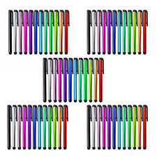 50pcs Universal Capacitive Touch Screen Stylus Pen for iPhone iPad Note Galaxy