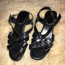 d3126cf8fd Ladies Black I Love Comfort Sandals Size 6.5 Strappy
