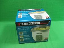 New Black and Decker Rice Cooker RC3406 6 Cup Rice