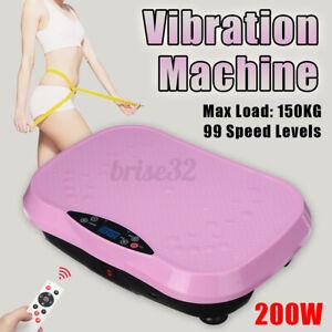 Vibration Platform Plate Machine Full Body Massager Indoor Exercise Fitnes
