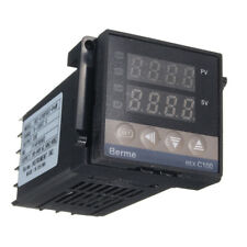 REX-C100 Digital PID Temperature Controller Regulator K Thermocouple 40A SSR Pro