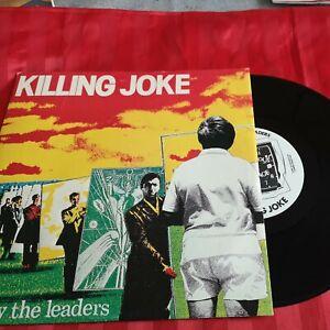 "KILLING JOKE - FOLLOW THE LEADERS/TENSION  1981 UK 10"" SINGLE  Picture sleeve"