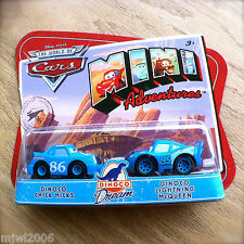 Disney PIXAR World of Cars MINI ADVENTURES Dinoco Dream CHICK HICKS & MCQUEEN