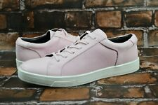 CALVIN KLEIN Bowyer Diamond Sneakers Brushed Smooth Pink Size 9 Men's Shoes