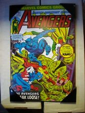Marvel Wooden Wall Plaque - The Avengers #143 - The Avengers Break Loose