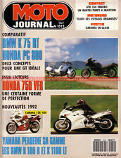 MOTO JOURNAL 1012 HONDA VFR 750 PC 800 BMW K75 RT K1100 R100 Wayne GARDNER 1991