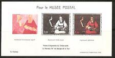 France.Pour Le Musee Postal. Phases d'impression du timbre-poste