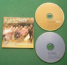 A Quiet Riot Oasis Low Nick Drake Lambchop Moby Arab Strap Sigur Ros + 2 x Cd