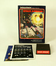 Intellivision boxed game Space Armada CIB Tested & Working