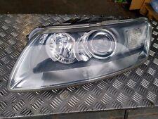 Headlight headlamp Audi A6 S6 C6 Xenon adaptive 2004-2008 passenger side N/S
