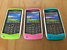 GENUINE ORIGINAL 3 x BLACKBERRY SKINS CASES COVERS FOR BLACKBERRY PEARL 3G 9105
