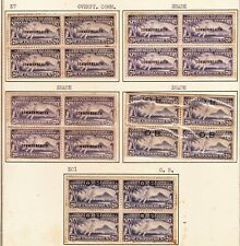 OLD US - PHILIPPINES SPECIAL DELIVERY STAMPS B/4