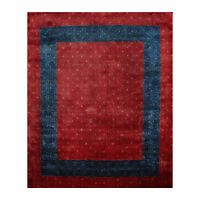 "8'1"" x 9'8"" Hand Knotted 100% Wool Kashkuli Gabeh 250 KPSI Oriental Area Rug Red"