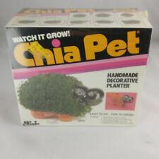 RARE VINTAGE 1983 CHIA PET HIPPO HANDMADE DECORATIVE PLANTER KIT NIB